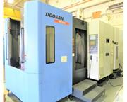 DOOSAN HP 5500 CNC 4-AXIS HORIZONTAL MACHINING CENTER NEW 2008
