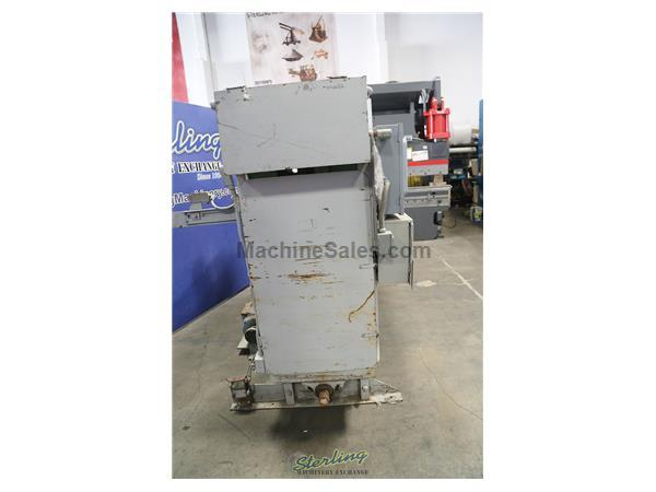 "4 Ton, Ormont # DU-44 , 4"" str, 12"" DL, receding hd lrg bed clicker press, 60"" x 30"" bed, cutting pad, push button, #A5835"