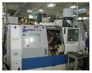 Daewoo Puma 230SA CNC LATHE, Fanuc 18iT, Subspindle Chip Conveyor