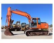 2004 Hitachi ZX160LC w/Hydraulic Thumb & Cab w/ A/C & Heat - Stock