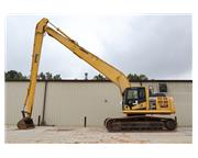2014 Komatsu PC290LC-10 60 FT Long Reach & Cab w/ A/C & Heat - E724