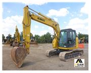 2014 Kobelco SK140 SRLC-3 w/ Plumbing on The Stick & Cab w/ A/C - Stock