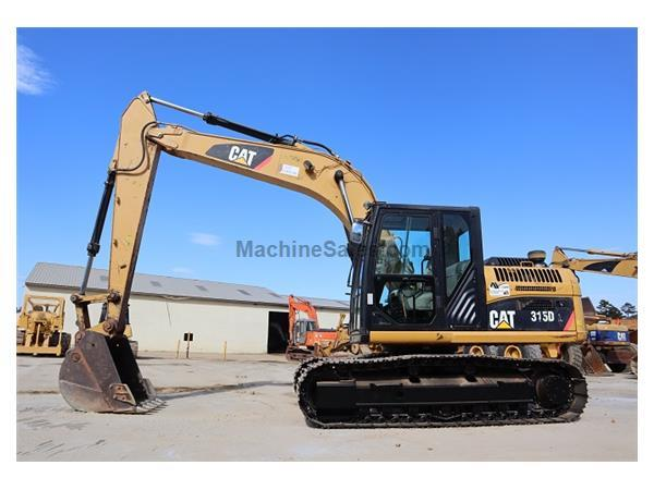 2012 Caterpillar 315DL w/ Enclosed Cab w/ A/C & Heat - E7184