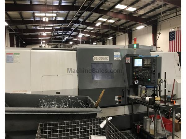 2013 Samsung SL-35MC/1500 CNC Turning Center
