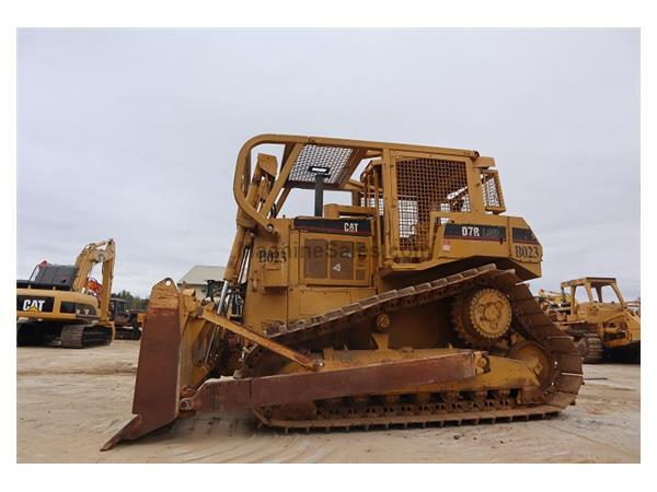 1998 Caterpillar D7R LGP w/ Straight Blade w/ Tilt & Screens - Stock Nu