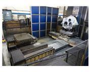 """Giddings & Lewis MC 1600 6.1"""" CNC Table Type Horizontal Boring Mil"""