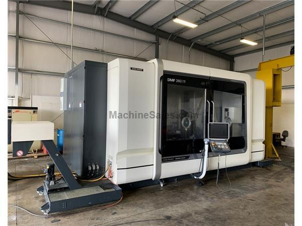 DMG MORI DMF 260-11 CNC 5-Axis Vertical Machining Center