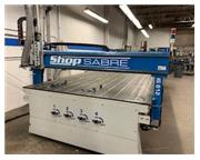 Shop Sabre # IS612 , CNC, 6' x12', vacuum table, 1 head, Vectric V-Carve Pro, like new, 20