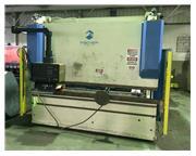 176 Ton, Fischer # DAP16/3100E , hydraulic, 7-Axis CNC, crowning, Cybelec control, 10' OA,