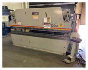 "130 Ton, Accurpress # 713012 , hydraulic press brake, 124"" BH, 20 HP, 2-Axis CNC, ton"