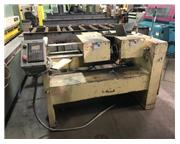 """3/8"""" -2"""" S & S # EF50A , double end tube & bar end finisher, (2) 2 HP motor, 24&"""