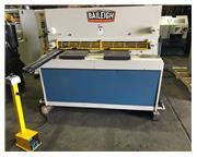 """1/4"""" x 4.3' Baileigh # SH-5203-HD , hyd plate shear, 24"""" ROMBG, 40"""" sq. arm"""