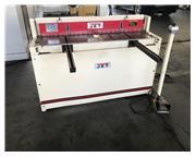 16 ga. x 4.3' Jet # PS-1652T , pneumatic shear, 40 SPM, 25.3 CFM, (2) T-slots in table, (2