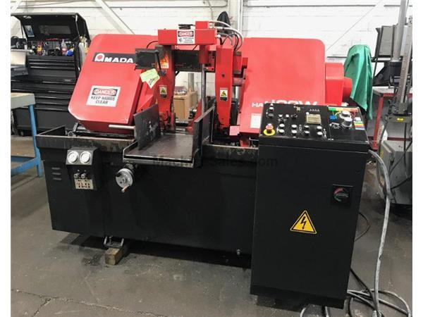 "16"" x 16"" Amada # HA-400W , automatic horizontal band saw, 50-295 FPM, 2015, #10"