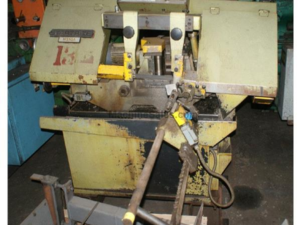 "10"" x 10"" Startrite # H250A , automatic horizontal band saw, 49-410 sfpm, 1990,"