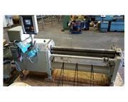 """.118"""" x 60"""" Fasti # 134-15/2 , CNC slip roll,4"""" top roll,1.5 HP, FM5R contr"""