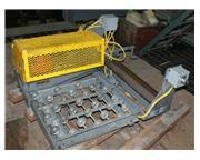 """6"""" x .062"""" Jaybird #J9-24-6, air feeder, 2"""" bore, 24"""" width, 1"""" d"""