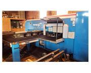 30 Ton, Finn-Power # FS-25-SB , hydraulic turret punch, Siemens Sinumerik 840D CNC control