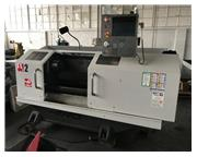 """Haas # TL-2 , CNC lathe, 12 HP, tailstock, steady rest, 10"""" chuck, clnt, rigid tap, t"""