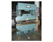 "17 Ton, DiAcro # 14-48-2 , hydro-mech press brake, 4' overall, 36.2"" between housing,"