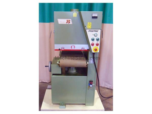 "Used Shen Shing 15"" Wide Belt Sander"