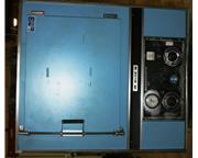 """25"""" W x 20"""" H x 20"""" L Blue M #POM-256B-1, 650°F, electr"""