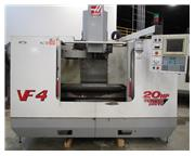 "2000 HAAS MODEL VF-4 VERTICAL MACHINING CENTER, 50"" X 20"" X 25&qu"