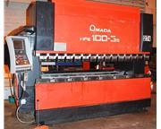 AMADA HFE-1003S 110 Ton 8-Axis CNC Down Acting Press Brake