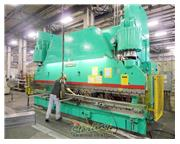 "750 Ton, Cincinnati # 750H , hydraulic press brake, 20' OA, 12"" str, 22"" open hg"
