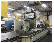 "KOMO VMC-160/50, Fanuc 16 CNC Cntl,162""x36"" Table, X=162"",Y="