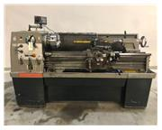 "1984 CLAUSING COLCHESTER 8031 VS, STRAIGHT BED ENGINE LATHE, 15"" X 50&"