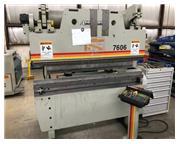 60 TON X 6' ACCURPRESS 7606 ETS CNC, MFG:2005