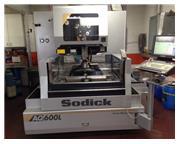 2012 Sodick AQ600L Wire EDM Machine