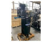 7.5 HP Industrial Air # IV7538015 , air tank mounted air compressor, 21.2 cfm, 175 psi, '1