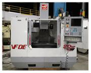 "2000 HAAS VF-0 VERTICAL MACHINING CENTER WITH HAAS CONTROL, 20"" X 16"" X 20"""