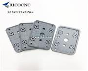 160x115x17mm Vacuum Suction Pad Pod Covers Top Vacuum Plate for CNC Router