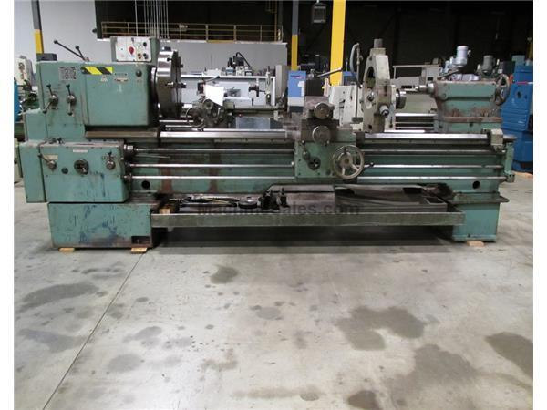 "1982 TOS SN71B GAP BED ENGINE LATHE WITH INCH/METRIC THREADING, 28"" X 80&qu"