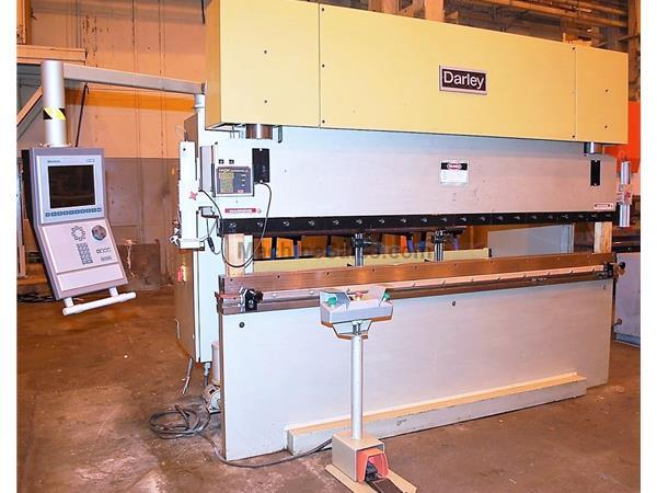 DARLEY EHP 110 31/25 110 Ton x 10' 4-Axis CNC Hydraulic Press Brake