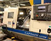 2002 Okuma Captain L370M BB CNC Turning Center With Live Tool and Big Bore