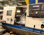 2002 Okuma Captain L370M BB CNC Turning Center With Live Tool and Big Bore