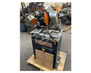 """7"""" Elumatec # MSG73 , semi-auto non-ferrours saw, 15"""" blade, 3400 RPM, 4.1 HP, 1"""