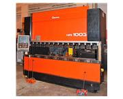 Amada HFE-1003s 110 Ton x 10' 8-Axis CNC Press Brake