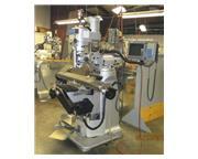 "Sharp LMV-50/MP-3, 3-Axis, MILLPWR-G2, 9"" x 50"" Tbl, 3 HP, 60 - 4"