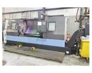 "DOOSAN PUMA 400LC, 2012, 21"" CHUCK, 7"" BORE, LONG BED (80""),"