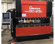 88 Ton x 8' Amada, Model HFE-80-25s, Amada Operateur 8-Axis CNC Control