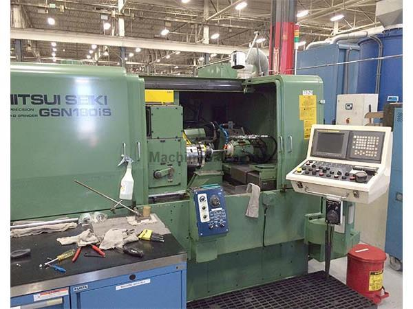 "MITSUI SEIKI, Model GSN-180iS, Fanuc 15iM, Full C-Axis, 18""Swing Over"
