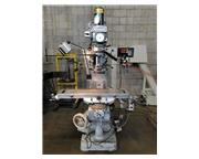 "Alliant 1-1/2TMV Bridgeport Style Vertical Knee Mill, 9"" x 42"" Ta"