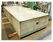 "STARRETT GRANITE SURFACE PLATE, Table Dims 14' x 6' x 28"", wei"