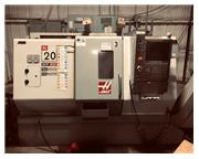 "2007 Haas SL-20 CNC Lathe - 8"" 3 jaw, 20hp, 4,000rpm, Conveyor, Excell"