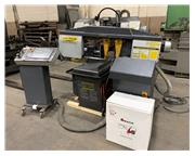 USED HYD-MECH MODEL S-20A SERIES II FULLY AUTOMATIC MITERING BANDSAW
